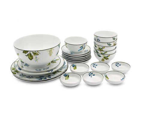 Bộ bàn ăn – Camellia – Lá Xanh - MNV-23193