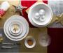 Bộ chén dĩa bàn ăn – Mẫu đơn – Viền chỉ vàng - MNV-341428014