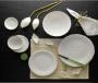 Bộ chén dĩa bàn ăn – Sen – Trắng ngà - MNV-351428000