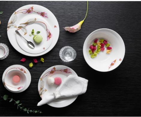 Bộ bàn ăn – Tulip – Loa kèn hồng - MNV-141428430