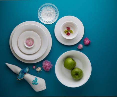 Bộ bàn ăn – Tulip – Trắng ngà - MNV-141428000