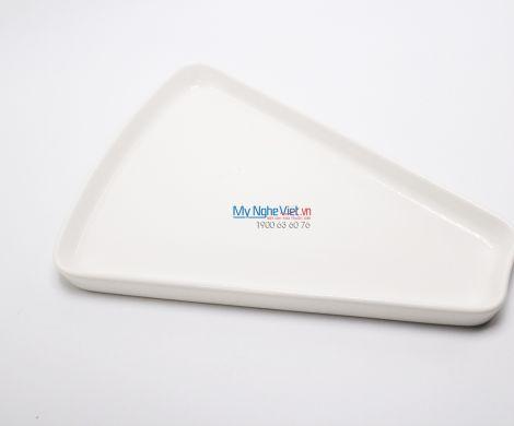 Dĩa cánh quạt 28 cm trắng ngà - MNV - 312835000