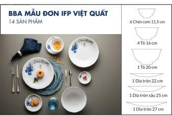 Bộ chén dĩa bàn ăn Minh Long IFP