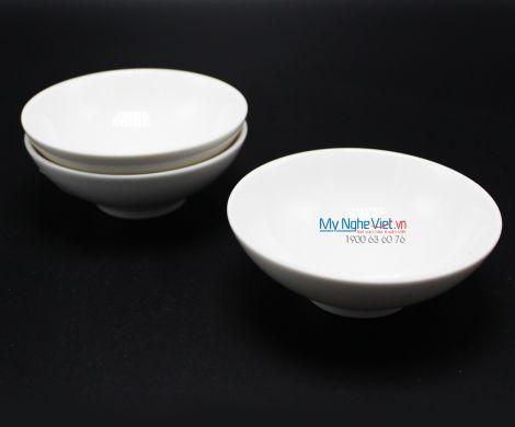 Chén chấm oval 9 x 6 cm trắng ngà - MNV - 570938000