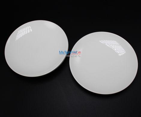 Dĩa lót súp 13 cm trắng ngà - MNV - 601301000