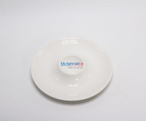 Dĩa trứng 13 cm trắng ngà - MNV - 601303000