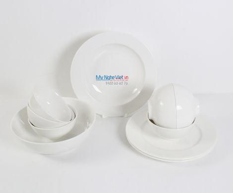 Bộ bàn ăn – Jasmine – Trắng ngà - MNV-471028000