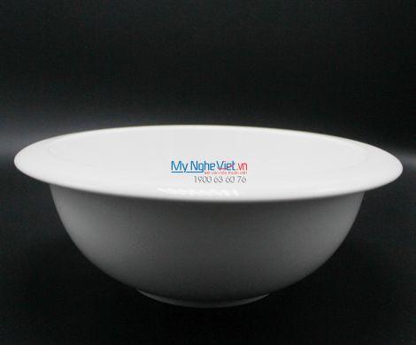 Tô loe vành 24 cm trắng ngà - MNV - 072491000