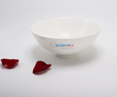 Tô thấp 23 cm trắng ngà - MNV - 072381000