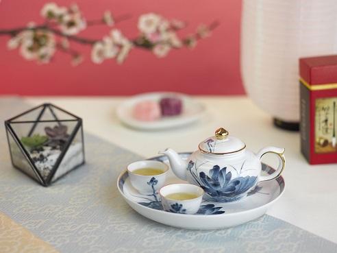 Bộ trà 0.35L Jasmine Sen Vàng - MNV - 01357234503