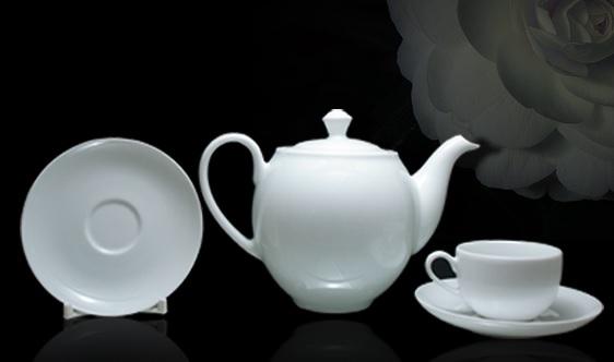 Bộ trà 0.8L came trắng - MNV - 01803800003