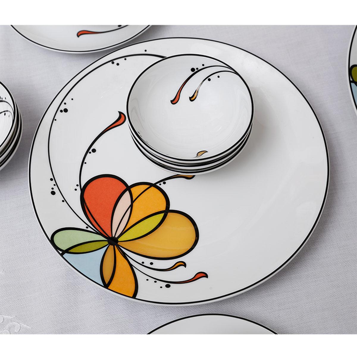 Bộ chén dĩa bàn ăn – Daisy – Bóng bay (6 người) - MNV-24312