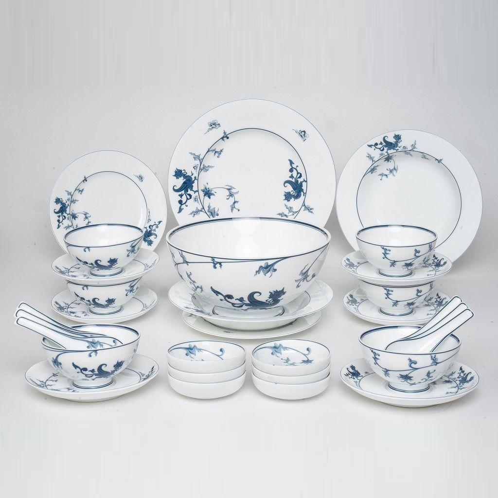 Bộ chén dĩa bàn ăn – Hoàng Cung – Lạc Hồng - MNV-30208