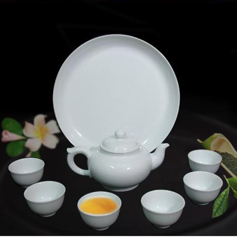 Bộ tách trà Jasmine trắng 1.1L - MNV - 1111103