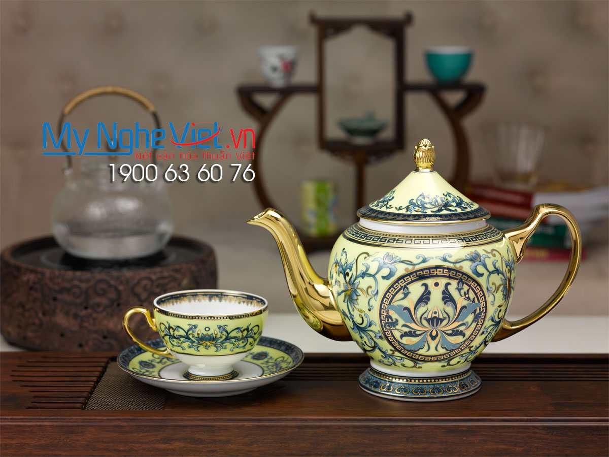 Bộ trà Hoàng Liên 1,3L  MNV-01134046003