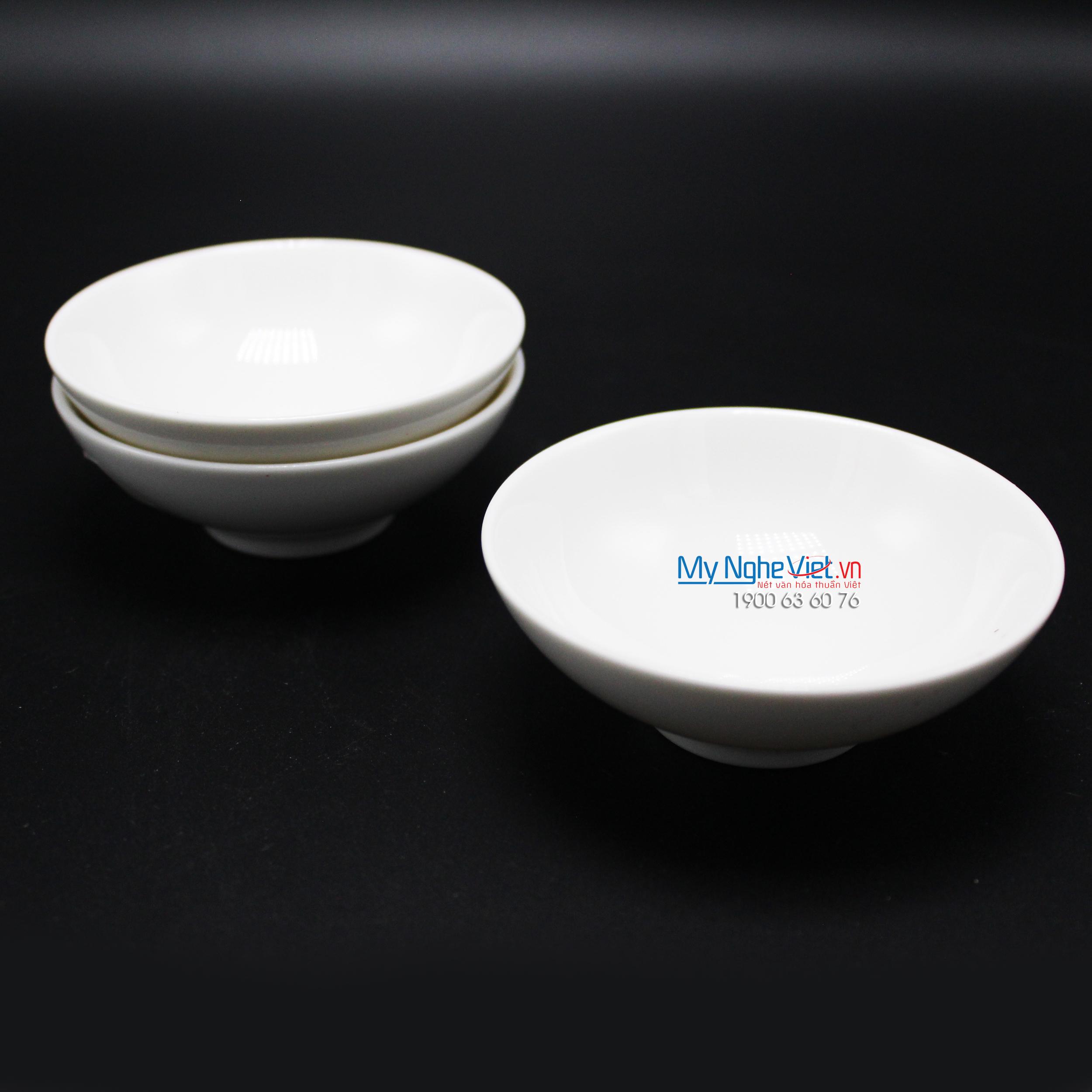 Chén chấm 7 cm trắng ngà - MNV - 640701000