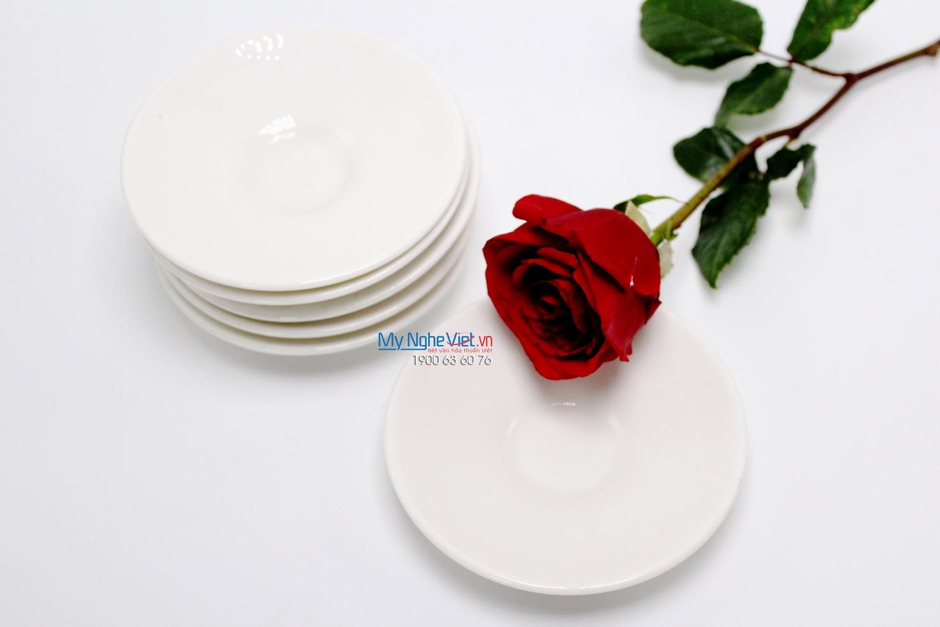 Dĩa lót 11 cm trắng ngà - MNV - 281187000