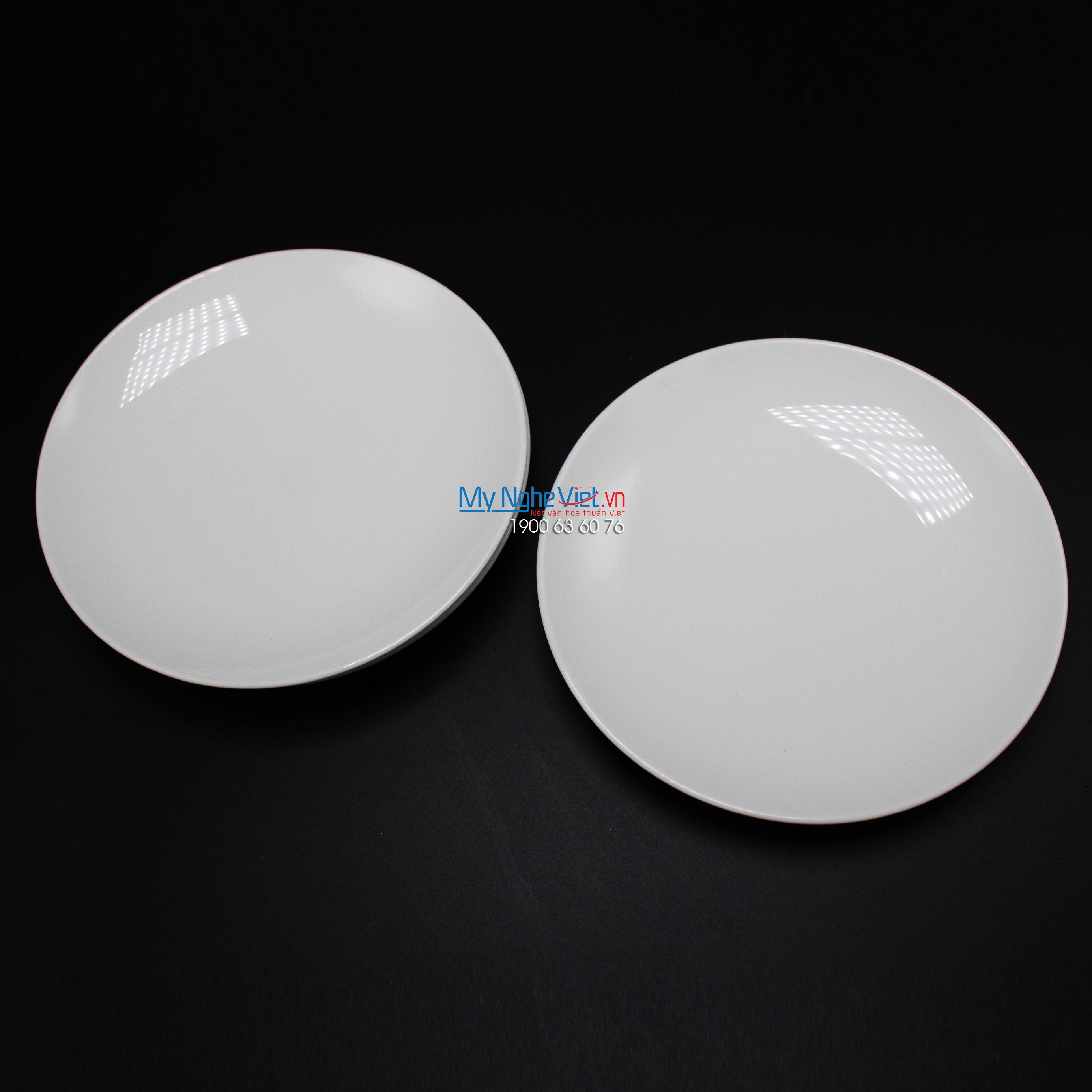 Dĩa lót thố súp 17.5 cm trắng ngà - MNV - 581769000