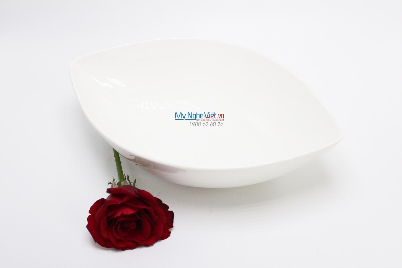 Tô oval 28 cm trắng ngà - MNV - 072893000
