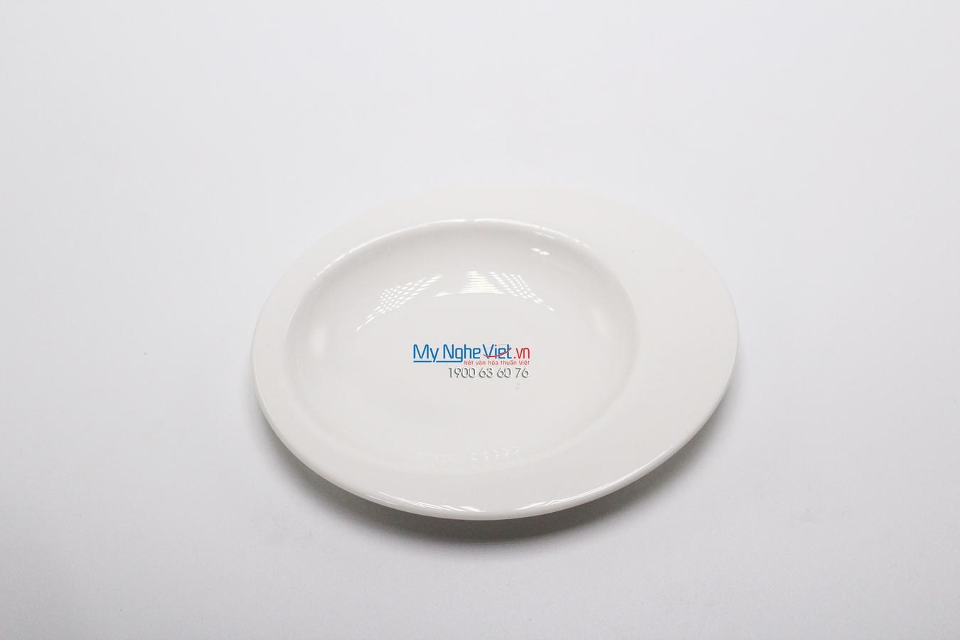 Dĩa oval cá nhân 14 cm trắng ngà - MNV - 571446000