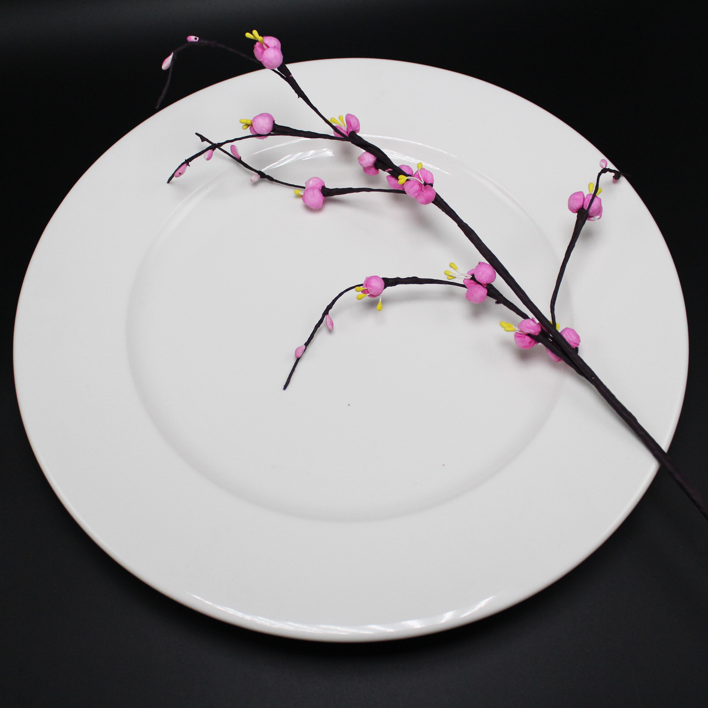 Dĩa tròn 35 cm trắng ngà - MNV - 583585000