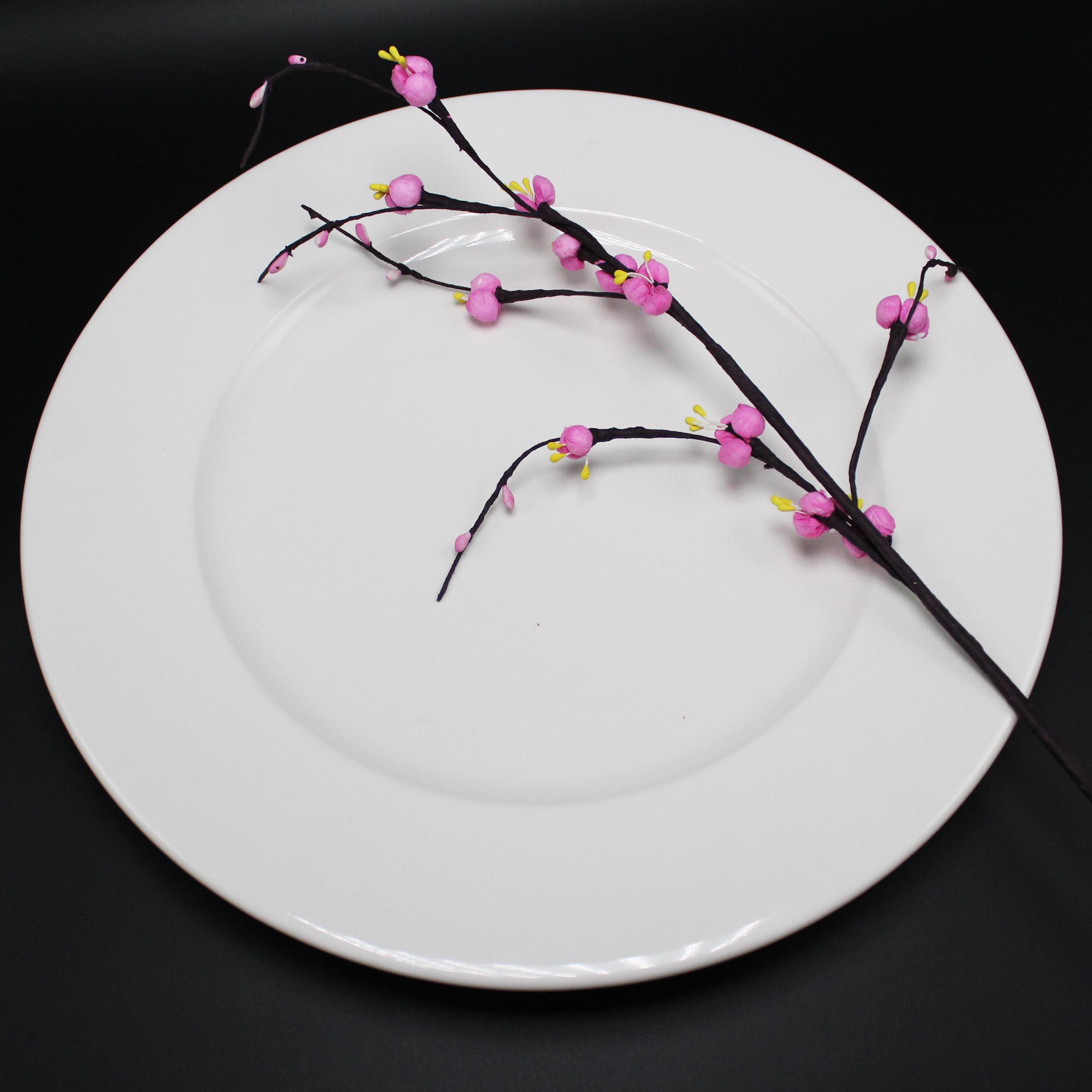 Dĩa tròn 25 cm trắng ngà - MNV - 582585000