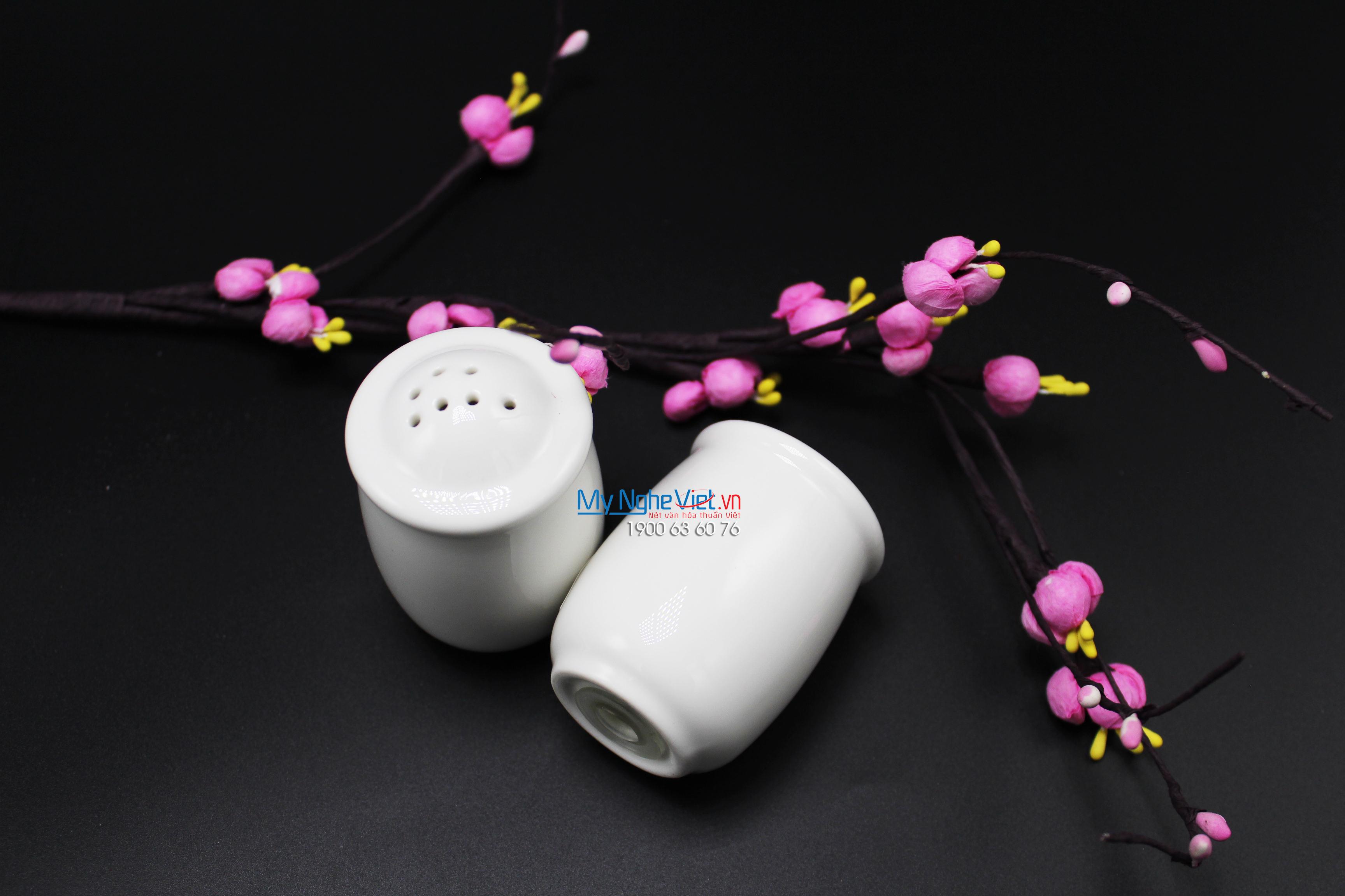 Hủ muối trắng ngà - MNV - 090756000