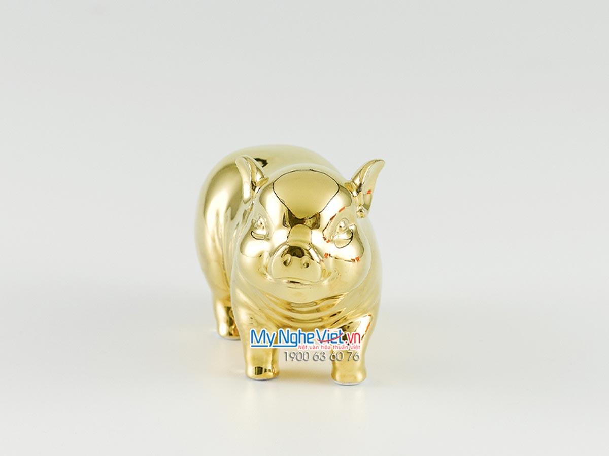 Tượng bách lộc dát vàng 00550509