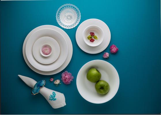 Bộ chén dĩa bàn ăn – Tulip – Trắng ngà - MNV-141428000